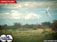 #Cyclones - The beautiful Windmills #ChaseCyclones #ChaseTheMonsoon