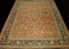 Antique Sultanabad Rug from Iran   beutiful rug
