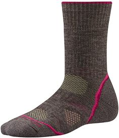 Smartwool PhD Outdoor Heavy Crew Sock - Women's Taupe Medium - http://womensoutdoorrecreationsocks.shopping-craze.com/index.php/2016/05/02/smartwool-phd-outdoor-heavy-crew-sock-womens-taupe-medium/
