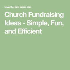 church fundraising ideas simple fun and efficient