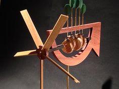 Spinner whirligig custom handcrafted whirligig whirligigs whirligig whirlygigs contemporary American arts and crafts woodwork woodcraft