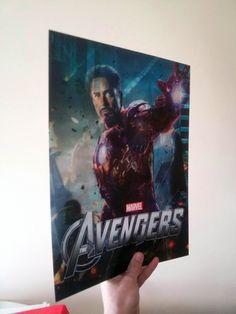 Avengers Lenticular Poster Flip effect New11.93x15.87in
