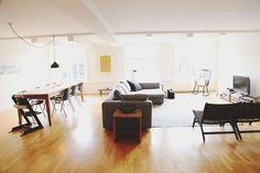 Best use of open floor plans