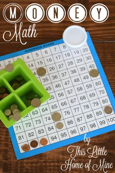Homeschool Morning Routine: Counting Money - This Little Home of Mine