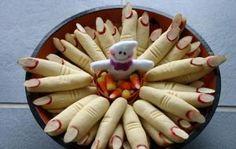 Biscotti a forma di dita mozzate
