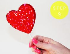Fashionably Bombed: DIY Tuesday: Homemade Valentine's Day Lollipops!