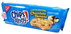 REVIEW: Limited Edition Chocolate Banana Chips Ahoy Cookies