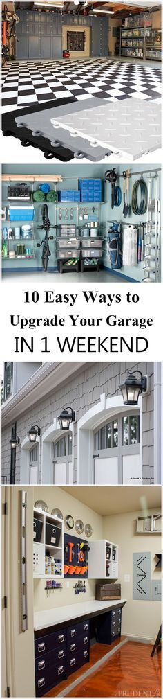 Did you remember to shut the garage door? Most smart garage door openers tell you if it's open or shut no matter where you are. A new garage door can boost your curb appeal and the value of your home. Garage Attic, Garage Shed, Garage Tools, Garage Plans, Garage Workshop, Garage Organization, Garage Storage, Organized Garage, Organization Ideas