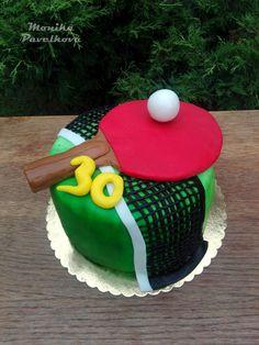 Table tennis CAKE. DORT ping pong.