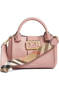 Burberry Small Buckle Leather Satchel available at #Nordstrom