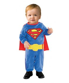 Take a look at this Plush Superman Dress-Up Outfit - Infant & Toddler on zulily today!