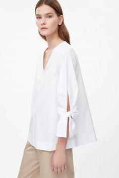 Shop Sexy Trending Dresses – Chic Me offers the best women's fashion Dresses deals Iranian Women Fashion, Womens Fashion, Moda Peru, White Shirts Women, Cut Sweatshirts, Fashion Details, Fashion Design, Couture Tops, Linen Dresses