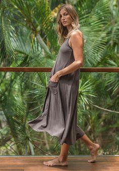 Dita dress rock  Organic Cotton, 100% Australian made, ethical, sustainable fashion