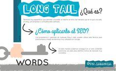 QUÉ ES EL LONG TAIL EN #SEO. #LongTail #Infographic #Infografia