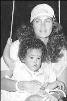 Cindy Breakspeare and son Damian Marley...OMCUTENESS!!! <3