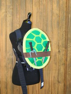Teenage Mutant Ninja Turtle TMNT Shell Baby Carrier Accessory Bjorn, Ergo, Tula Cover with Huge Storage Pocket Best baby shower gift!  comic con Raphael Michelangelo Donatello Leonardo