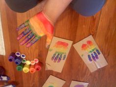 rainbow craft for kids _jaylynne