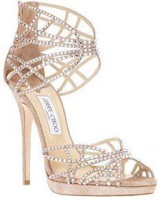 Shop Women's Jimmy Choo Sandal heels on Lyst. Track over 2879 Jimmy Choo Sandal heels for stock and sale updates. Fancy Shoes, Pretty Shoes, Crazy Shoes, Beautiful Shoes, Me Too Shoes, Bridal Shoes, Wedding Shoes, Dream Wedding, Stilettos