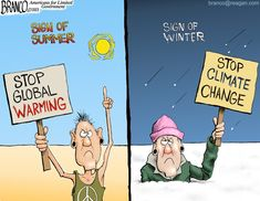Political cartoon drawn by A. Branco that focuses on global warming and climate change. Conservative Cartoons, Obama Cartoon, About Climate Change, Friday Humor, Social Change, Political Cartoons, Global Warming, I Laughed, Politics