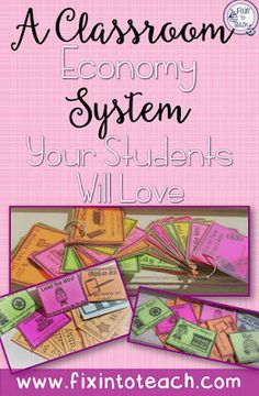 Take charge of your classroom management with a classroom economy system! Check out my blog post on how I use 'Funny Bucks' and coupons to motivate students to make good choices.