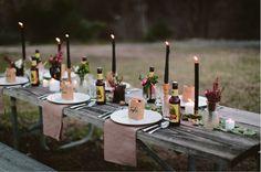 Una preciosa mesa para una comida en el campo   Decorar tu casa es facilisimo.com