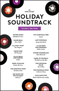my holiday soundtrack! fa la la