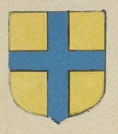 Le Prieuré d'Ecevillé. Porte : d'or, à une croix d'azur | N° 128 > Loches