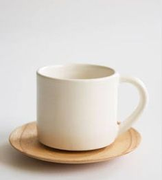 Beautiful Simple Cup and Saucer