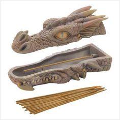 Dragon Head Incense Burner Set