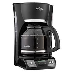 Mr. Coffee CGX23 12-Cup Programmable Coffeemaker Black For Sale https://bestcoffeemachineusa.info/mr-coffee-cgx23-12-cup-programmable-coffeemaker-black-for-sale/