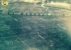 sport - People playing football ...TheHackney Marshes in 1951 #sport #public #massive - Funomenia