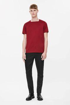 COS | Square-neck cotton t-shirt
