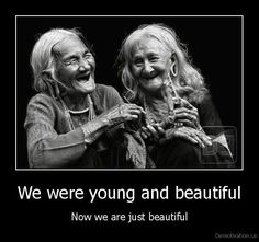 now we are just beautiful.