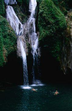 Salto del Caburni waterfall, Sierra del Escambray, near Trinidad.  Shannon Nace  Lonely Planet Photographer
