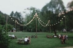 shabby chic outdoor lighting | Lighting for an outdoor wedding | Shabby & Chic, Rustic Vintage Wed...