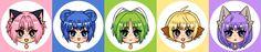 Tokyo Mew Mew/Mew Mew Power Stickers/Pins by alliemattable on DeviantArt