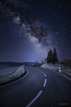Photo Galactic Road by Johannes Nollmeyer on 500px