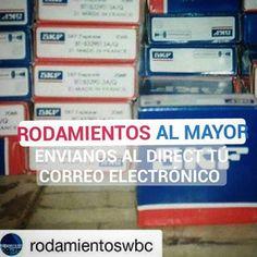 #RODAMIENTOSWBC YA TIENE ACTUALIZADA LA LISTA DE PRECIOS DEL MES DE MAYO CON UN AMPLIO STOCK NO OLVIDES ENVIARNOS TÚ. CORREO!!! #VENTAS #RODAMIENTOS #ALMAYOR #KOYO #SKF #NSK #BOCH #SANDEN508