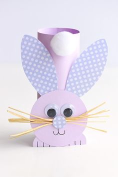This list of simple Easter crafts for kids is absolutely adorable! From egg carton chicks to cotton ball bunnies there are tons of Easter craft ideas here! images paper crafts Simple Easter Crafts for Kids - One Little Project Paper Plate Crafts For Kids, Fun Easy Crafts, Easy Easter Crafts, Easter Art, Bunny Crafts, Easter Crafts For Kids, Toddler Crafts, Preschool Crafts, Easter Bunny