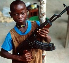 Child soldier, Uganda - I want him to have the opportunity to be a child.