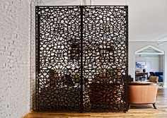 Room Divider Interior partition Room decor Hanging screen 12