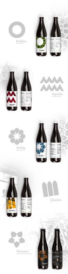 Slovakian Bardejov's Gypsy Brewery Berhet Create Gothic Textured Labels  / World Brand & Packaging Design Society
