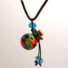 Aromatherapy Jewelry Aroma Bottle Necklace
