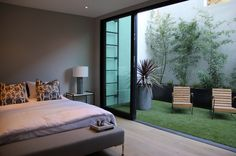 Residential Artificial Turf was widely use in indoor decoration, landscape and building green. This kind of Artificial Turf is bright green, which is the best substitutes Bedroom Balcony, Home Bedroom, Modern Bedroom, Bedroom Ideas, Basement Bedrooms, Bedroom Designs, Home Room Design, Home Interior Design, Interior Garden