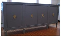 awesome gray sideboard