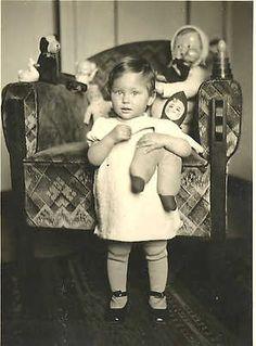 Magdalena Dora (Dorie) Blau murdered in Auschwitz on Aug. 9, 1942. Magdalena was murdered 5 months before she reached her 3rd year.