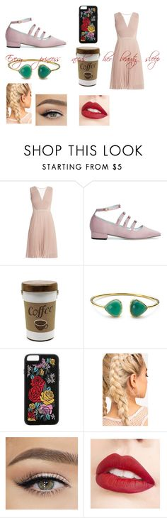 """""""If if Disney princesses were in the 21st century - Aurora"""" by hufflepuffprincess101 ❤ liked on Polyvore featuring Boohoo and Jouer"""