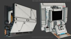 ArtStation - Alien_Isolation_Art_Drop, Ricardo Chamizo