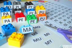 English Games, Infant Activities, Usb Flash Drive, Education, Lego, Polish, Reading, Speech Language Therapy, Kids