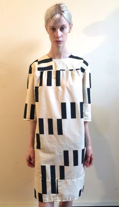 70's Handmade SHIFT dress Marimekkoesque by TEMPLONYC on Etsy